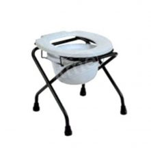 KW-897A Folding Commode Stool With Lock