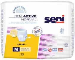 SENI ACTIVE NORMAL PULL UP PANTS 10 NOS PACK